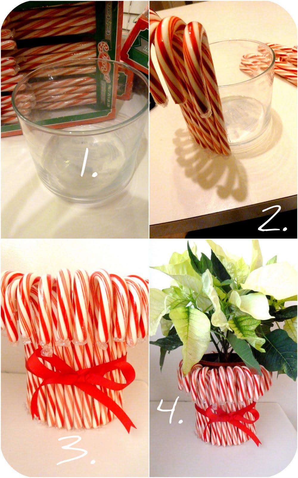 Candy Cane Centerpiece (Teacher's gift)