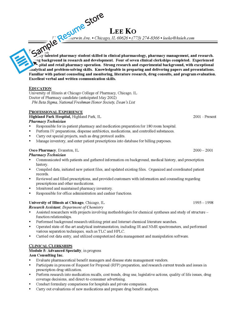 how should a pharmacy technician resume look resume builder how should a pharmacy technician resume look pharmacy technician headquarters hq sample resume for pharmacy technician