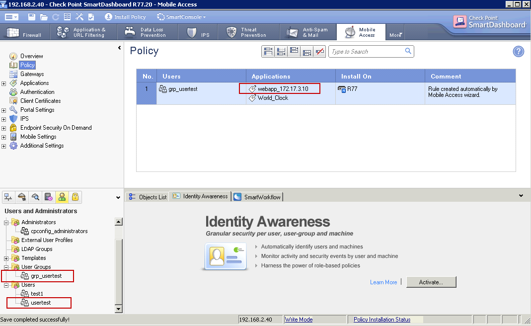 Enable Checkpoint SSL VPN Remote Access: Step by Step