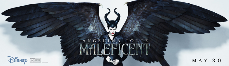'Maleficent' ~ Wings Poster & New Video Clip, The curse has been broken.
