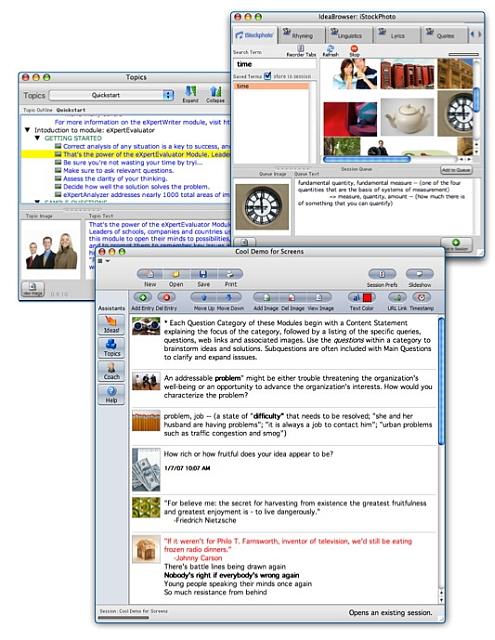Brainstorming software