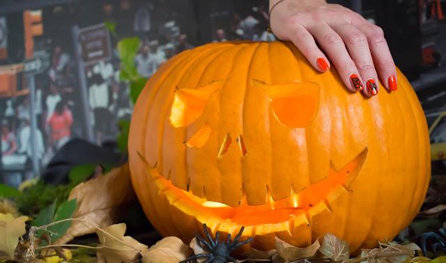 Monday Shadow Challenge : Une citrouille pour Halloween :)