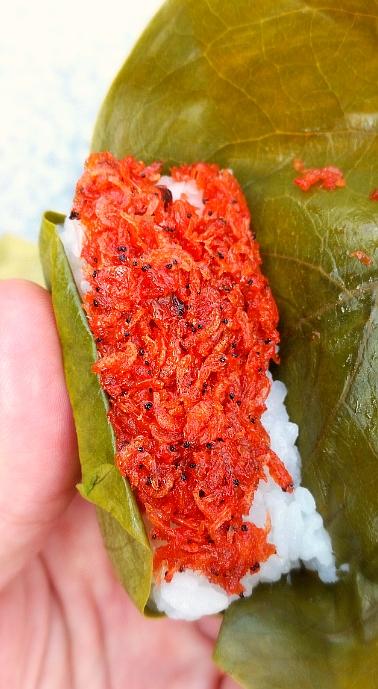 人文研究見聞録:奈良の柿の葉寿司(えび)