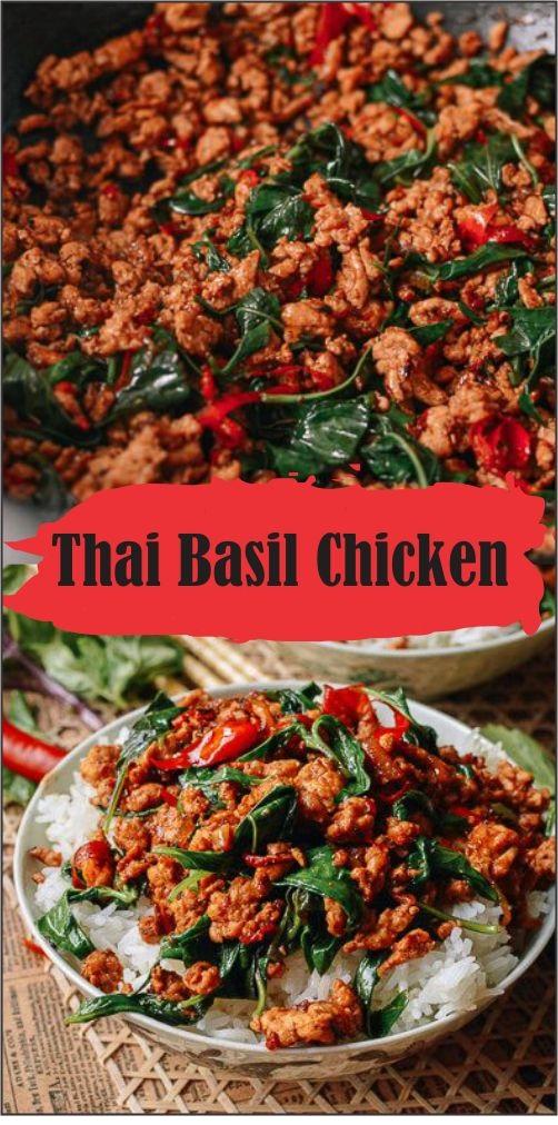 Thαi Bαsil Chicken (Eαsy Gαi Pαd Krαpow)