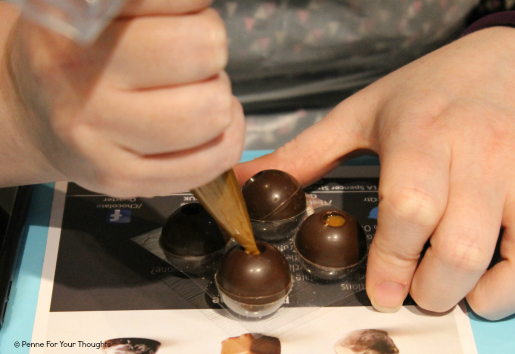 Chocolate workshop at The Chocolate Quarter, Birmingham