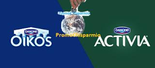 Logo Concorso ''Vinci la spesa con Activia & Oikos''