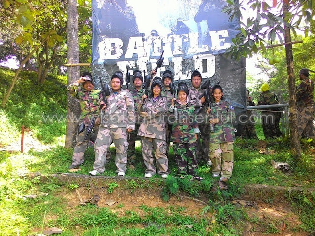 Paket Paintball Games Mini Golf di Sentul City