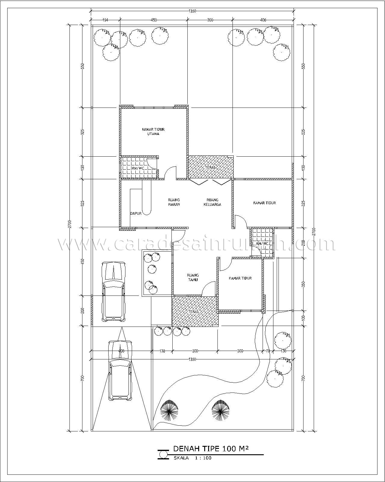 Contoh rumah dengan dapur 2,5 x 3,25 meter