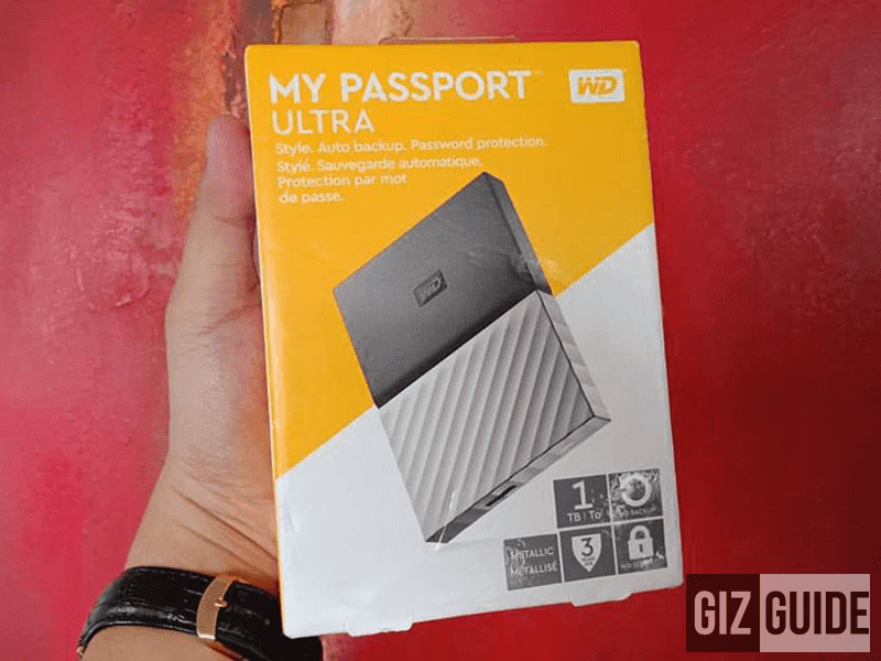 Raffle: WD MyPassport Ultra 1TB External Portable HDD