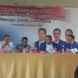 Musda PAN : Sukandar Isyaratkan Buka Jalur Koalisi?