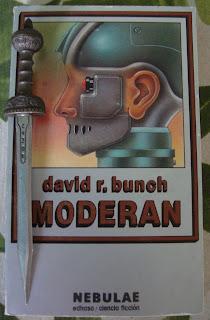 Portada del libro Moderan, de David R. Bunch