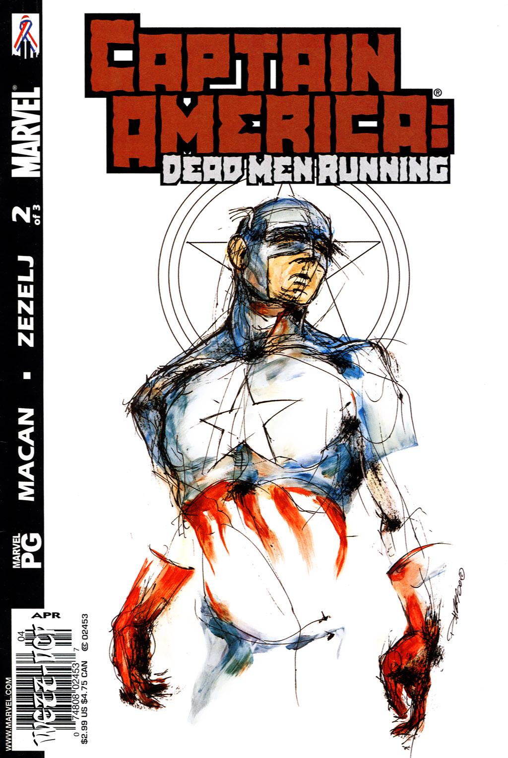 Captain America (1998) 50c Page 1