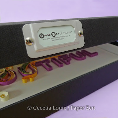 Stationery Box for Quilling Project Storage