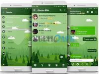 BBM Mod Mi-Green Ocean Theme v3.2.5.12 Apk