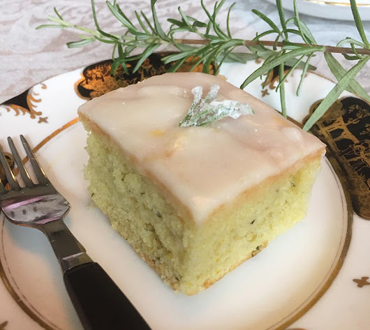 Olive Oil, Orange & Rosemary Cake Recipe