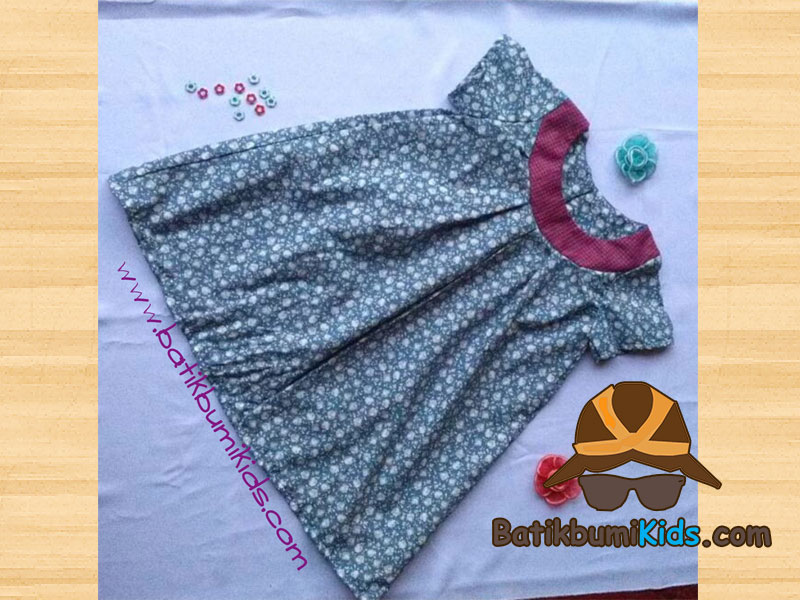 Dress Batik Anak Kayla printed series