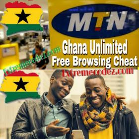 New MTN Ghana Free Browsing Cheat Settings Using AnonyTun