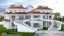Kerala Luxury Home Designs