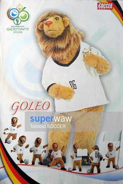 Goleo Maskot Piala Dunia 2006