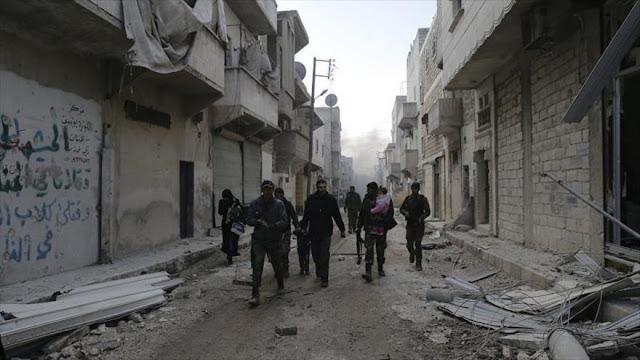 """Siria incauta fármacos """"Made in Israel"""" de terroristas en Alepo"""