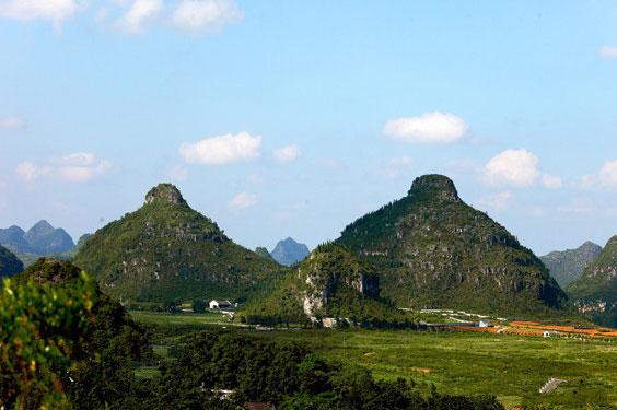 Wisata China Ada Gunung Kembar Mirip Payudara Berita