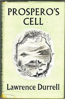 "The book ""Prospero's cell"", dedicated to the island of Corfu. Книга ""Келья Просперо"", посвященная острову Корфу."