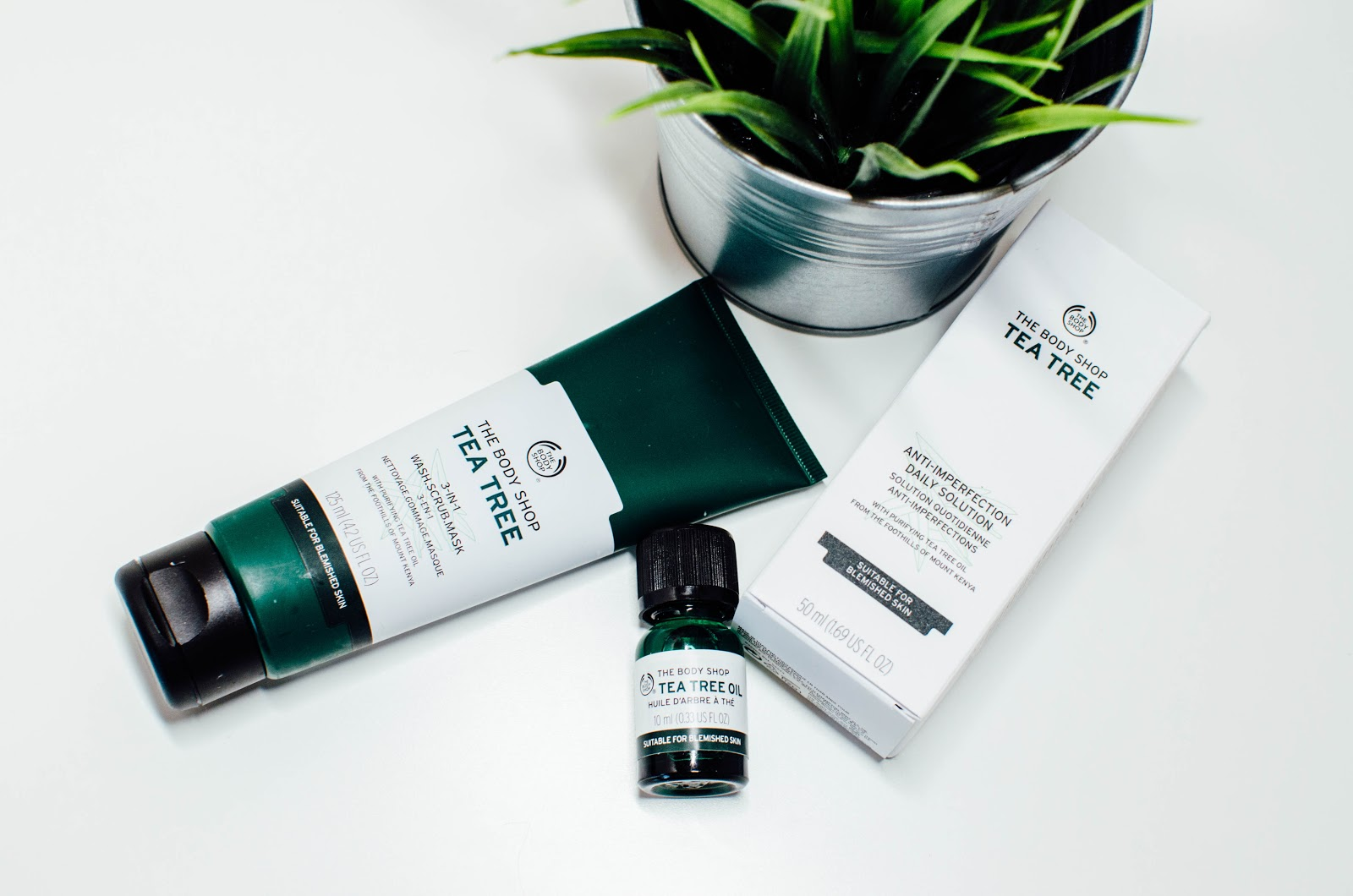 The Body Shop Tea Tree Range Being Ashleigh Fashion Lifestyle Oil 10ml Is Place To Go For All Skin Care Essentials I Remember Using Products When Just Started Looking After My Properly
