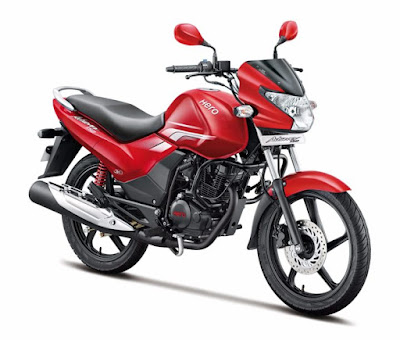 2016 Hero Achiever 150 Red side front view