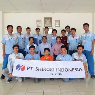 Lowongan Kerja Pabrik GIIC untuk SMK PT Shiroki Indonesia Deltamas Cikarang