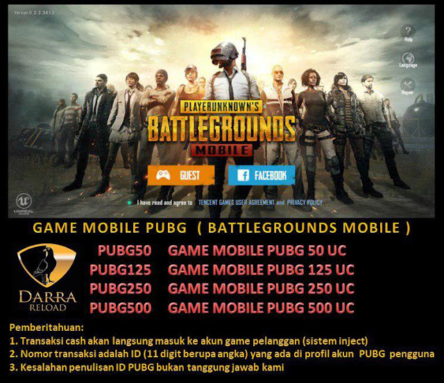 voucher game mobile PUBG