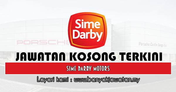 Jawatan Kosong 2019 di Sime Darby Motors