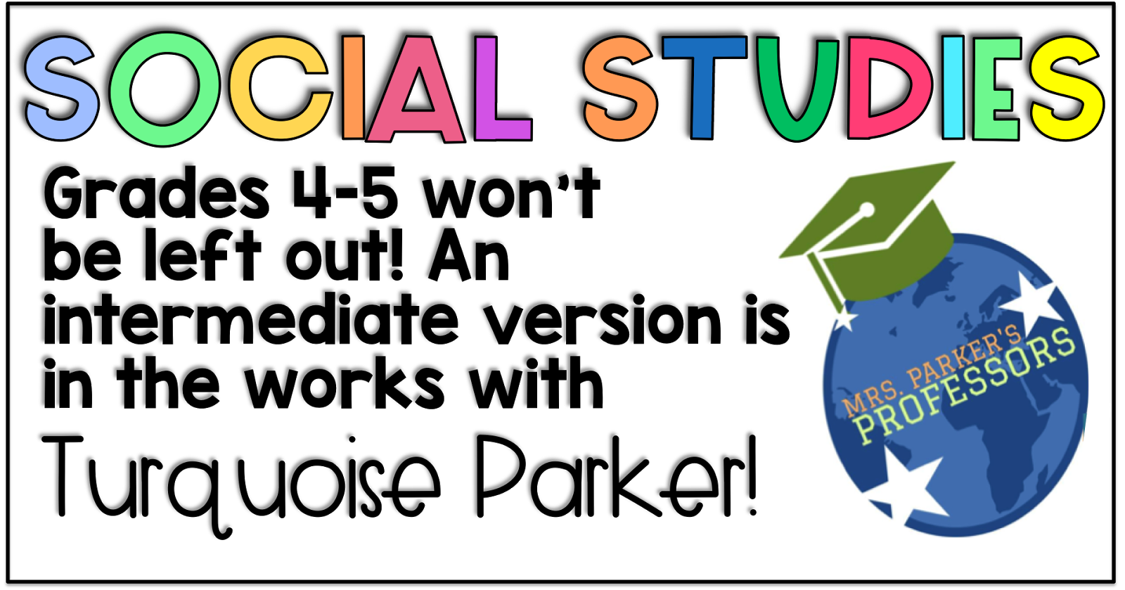 Primary Chalkboard: Social Studies Topics that Matter for