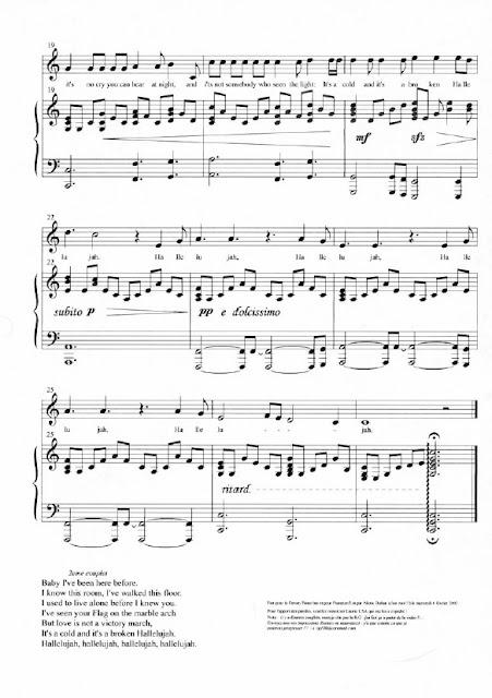 Banda Sonora - Shrek (Hallelujah)