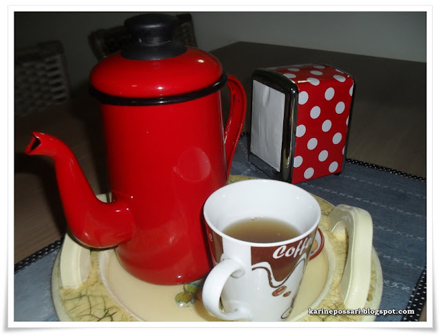 chá de laranja e guaco