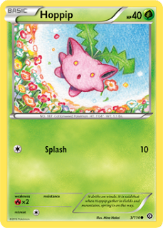 Hoppip Steam Siege Pokemon Card