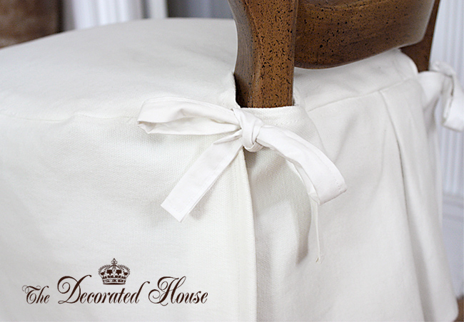 The Decorated House ~Slipcover Ideas