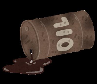 廃油のイラスト