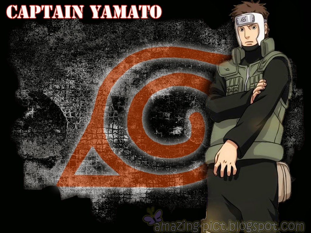 Captain Yamato from Konoha Village