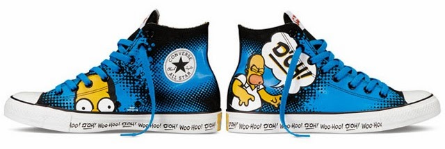 102574cb455a Simpsons x Converse Chuck Taylor All-Star collection - Hello ...