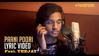Sawaari _ Paani Poori Lyric Video _ Vishal Chandrasekhar ft.Teejay _ Guhan Senniappan _ Trend Music