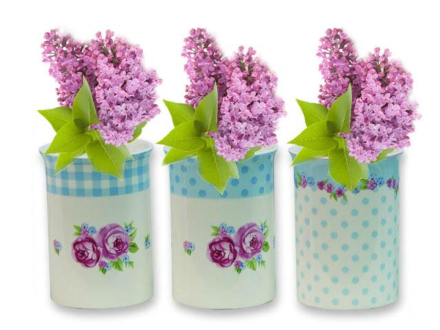 Unas tazas muy especiales !!! | Todo con las flores: decorar, crear ...