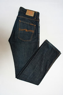 Nudie Jeans Co. Hose SLIM JIM W32 L34 dunkelblau S04