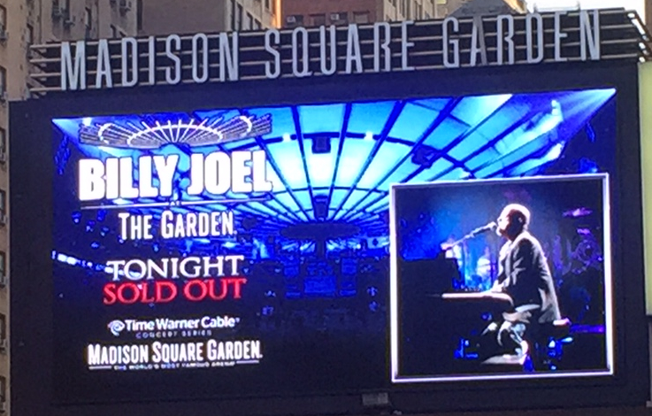 Living Our Bucket List Life Billy Joel At Madison Square Garden May 2016