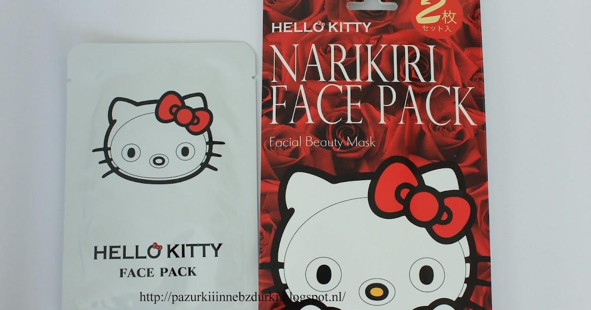 Pazurki i inne bzdurki HELLO KITTY face mask