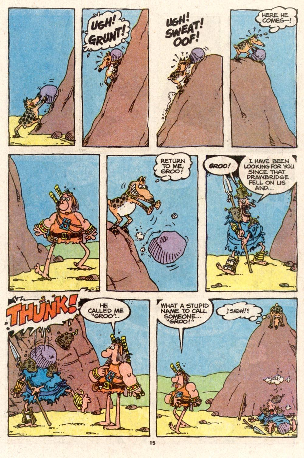 Read online Sergio Aragonés Groo the Wanderer comic -  Issue #74 - 11