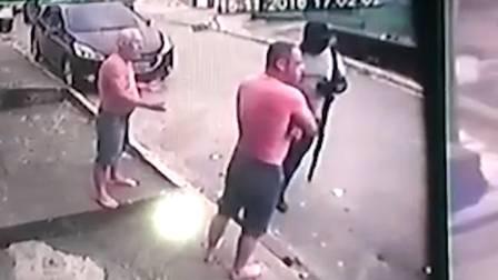 executados com tiros de fuzil