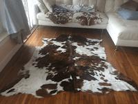 Ide Dekorasi Rumah - Karpet Lantai Kulit Sapi