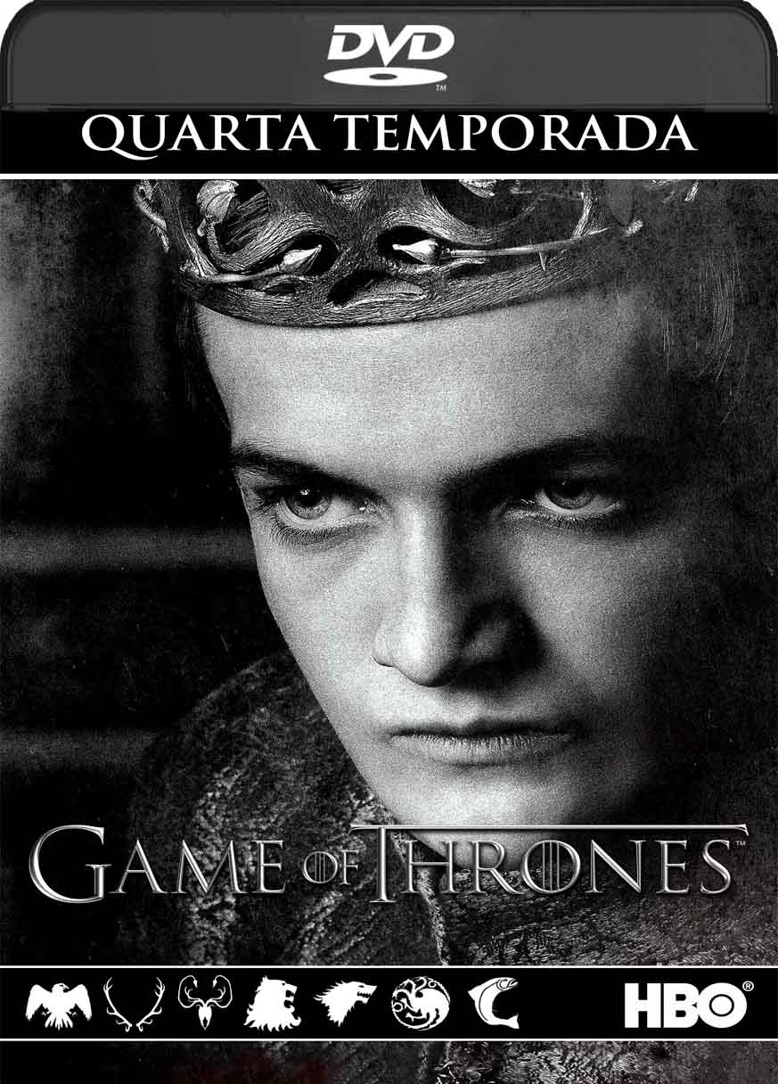Game of Thrones – 4ª Temporada Completa (2014) DVD-R Oficial