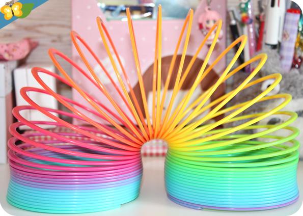 Rainbow springy - ressort arc-en-ciel