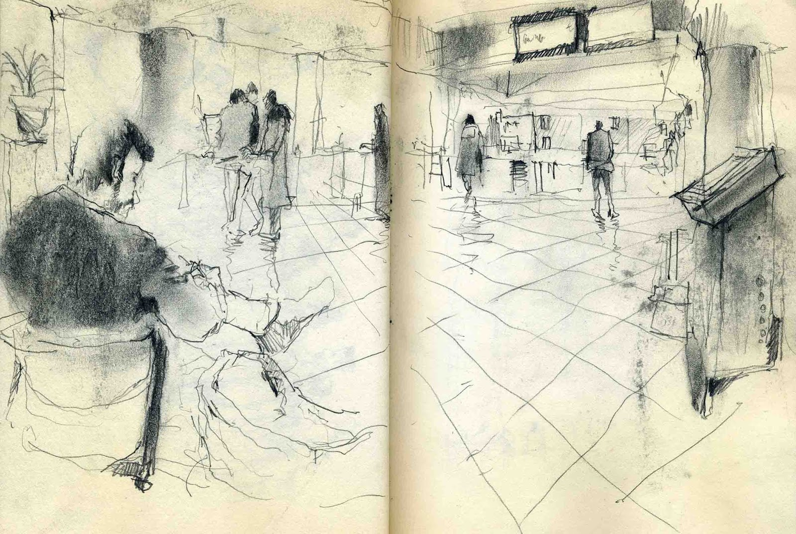 Central Library of Isfahan | Urban Sketchers